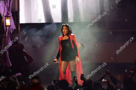 Stock Photo of Mia Martina seen at the 2015 Much Music Video Awards at the Much Music HQ, in Toronto, Canada