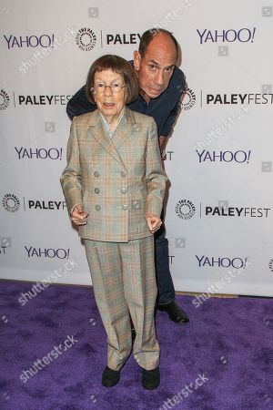 Stock Image of Linda Hunt, left, and Miguel Ferrer attend the at 2015 PaleyFest Fall TV Previews at The Paley Center for Media, in Beverly Hills, Calif