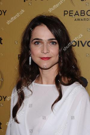 Maya Kazan attends the 74th Annual Peabody Awards at Cipriani Wall Street, in New York