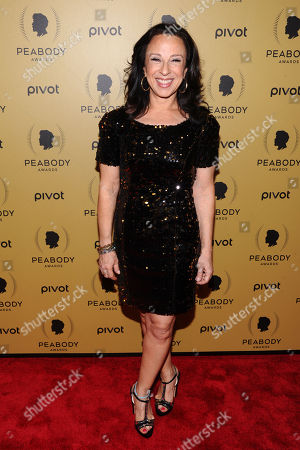 Maria Hinojosa attends the 74th Annual Peabody Awards at Cipriani Wall Street, in New York