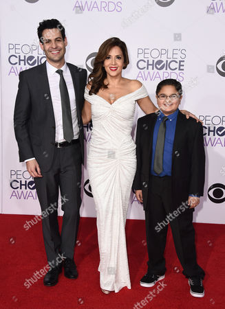 Editorial image of 2015 People's Choice Awards - Arrivals, Los Angeles, USA - 7 Jan 2015