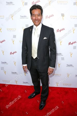 Stock Image of Peter Kwong arrives at the 2015 Performers Peer Group Celebration Presented by The Television Academy at the Montage Hotel, in Beverly Hills, Calif