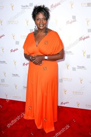 Anna Maria Horsford arrives at the 2015 Performers Peer Group Celebration Presented by The Television Academy at the Montage Hotel, in Beverly Hills, Calif