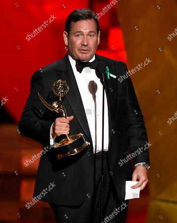 David Nutter accepts the award for Outstanding Director for â?oeGame Of Thronesâ?? at the 67th Primetime Emmy Awards, at the Microsoft Theater in Los Angeles
