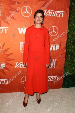Stock Image of Gaby Hoffmann attends the Variety Magazine and Women in Film Pre Emmy Party held at Gracias Madre, in West Hollywood, Calif