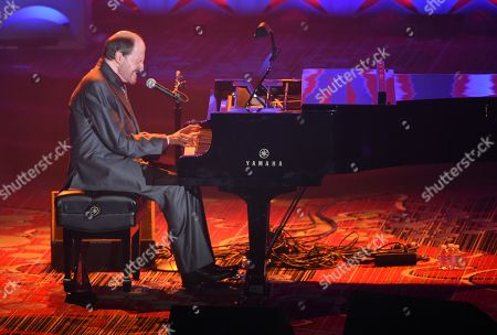 Stock Image of Honoree Bobby Braddock performs at the 46th Annual Songwriters Hall Of Fame Induction and Awards Gala at the Marriott Marquis, in New York