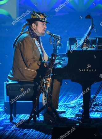 Mac Rebennack aka Dr.John performs at the 46th Annual Songwriters Hall Of Fame Induction and Awards Gala at the Marriott Marquis, in New York