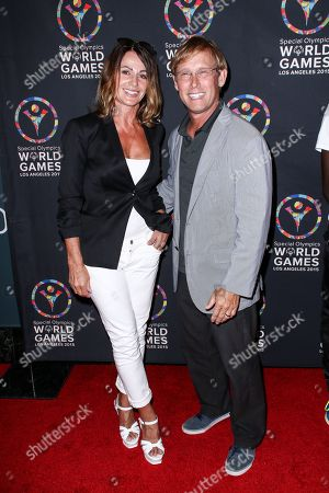 Nadia Comaneci, left, and Bart Conner attend the 2015 Special Olympics Celebrity Dance Challenge held at Wallis Annenberg Center For The Performing Arts, in Beverly Hills, Calif