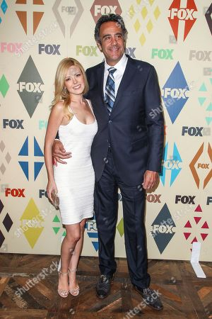 Stock Picture of Brad Garrett and Isaball Quella attend the 2015 Summer TCA - Fox All-Star Party at Soho House on in Los Angeles