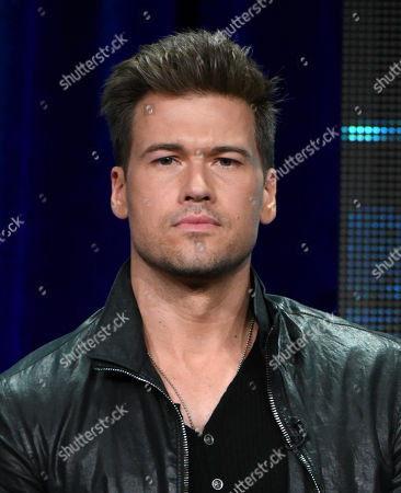 Stock Photo of Nick Zano participates in the 'Minority Report' panel at the Fox Television Critics Association Summer Tour at the Beverly Hilton Hotel, in Beverly Hills, Calif