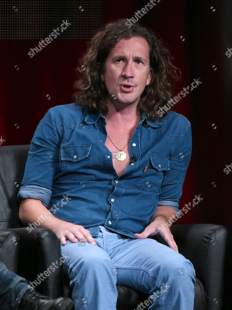 Co-creator/executive producer/director/writer Ian Brennan participates in the 'Scream Queens' panel at the Fox Television Critics Association Summer Tour at the Beverly Hilton Hotel, in Beverly Hills, Calif