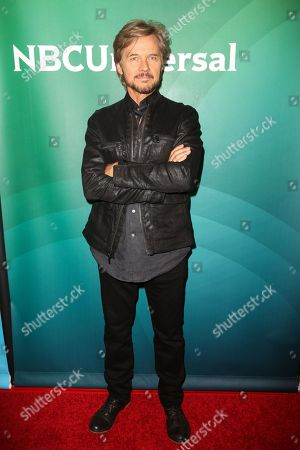 Stephen Nichols arrives at the NBCUniversal Television Critics Association Summer Tour at the Beverly Hilton Hotel, in Beverly Hills, Calif