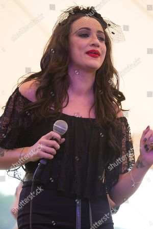 Lindi Ortega performs at the Heartbreaker Banquet, in Spicewood, TX