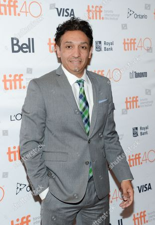 """Screenwriter Mark Mallouk attends the premiere for """"Black Mass"""" on day 5 of the Toronto International Film Festival at the Elgin Theatre, in Toronto"""