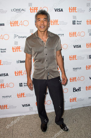 """Stock Photo of Hiro Kanagawa attends a premiere for """"Heroes Reborn"""" on day 6 of the Toronto International Film Festival at The Winter Garden Theatre, in Toronto"""