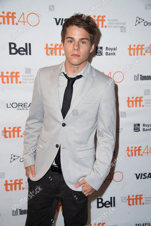 "Jake Manley attends a premiere for ""Heroes Reborn"" on day 6 of the Toronto International Film Festival at The Winter Garden Theatre, in Toronto"