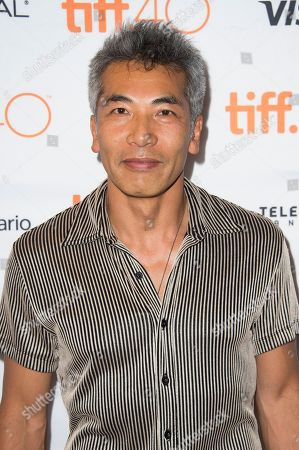 """Stock Image of Hiro Kanagawa attends a premiere for """"Heroes Reborn"""" on day 6 of the Toronto International Film Festival at The Winter Garden Theatre, in Toronto"""