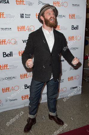 "Henry Zebrowski attends a premiere for ""Heroes Reborn"" on day 6 of the Toronto International Film Festival at The Winter Garden Theatre, in Toronto"