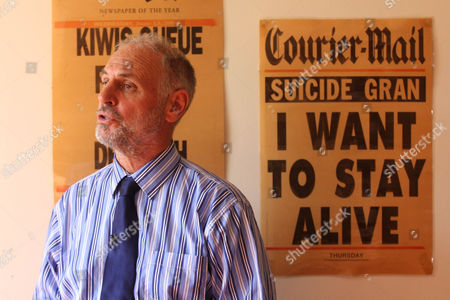 Australian physician Dr Philip Nitschke, AKA Dr Death.