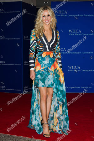 Candice Crawford attends the 2015 White House Correspondents' Association Dinner at the Washington Hilton Hotel, in Washington