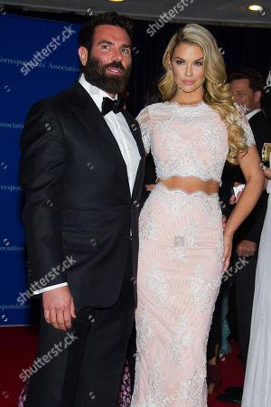 Dan Bilzerian and Jessa Hinton attend the 2015 White House Correspondents' Association Dinner at the Washington Hilton Hotel, in Washington