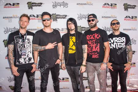 Editorial picture of 2016 Alternative Press Music Awards - Arrivals, Columbus, USA - 18 Jul 2016