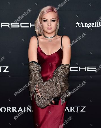 Kaya Stewart attends the 2016 Angel Ball, benefitting Gabrielle's Angel Foundation for Cancer Research, at Cipriani Wall Street, in New York