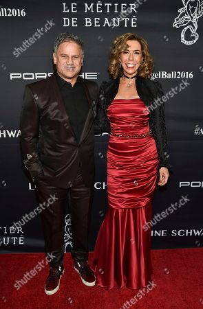 Jon Stevens and Heloise Pratt AM attends the 2016 Angel Ball, benefitting Gabrielle's Angel Foundation for Cancer Research, at Cipriani Wall Street, in New York