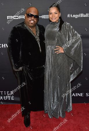 CeeLo Green, left, and Shani James attend the Angel Ball benefitting Gabrielle's Angel Foundation for Cancer Research at Cipriani Wall Street, in New York