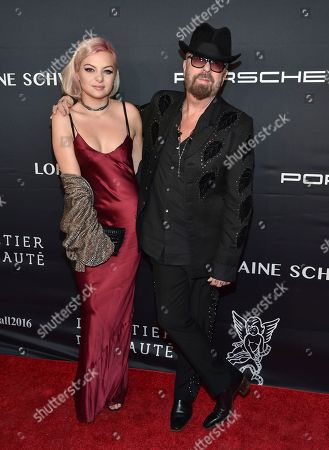 Kaya Stewart and father Dave Stewart attend the 2016 Angel Ball, benefitting Gabrielle's Angel Foundation for Cancer Research, at Cipriani Wall Street, in New York