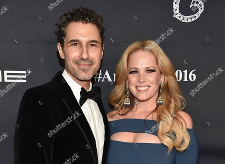 Stock Picture of Ethan Zohn and wife Lisa Heywood attend the 2016 Angel Ball, benefitting Gabrielle's Angel Foundation for Cancer Research, at Cipriani Wall Street, in New York