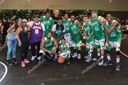 Editorial image of 2016 BET Experience - Sprite Celebrity Basketball Game, Los Angeles, USA - 25 Jun 2016