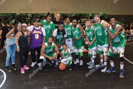 Editorial picture of 2016 BET Experience - Sprite Celebrity Basketball Game, Los Angeles, USA - 25 Jun 2016