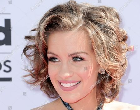 Betty Cantrell arrives at the Billboard Music Awards at the T-Mobile Arena, in Las Vegas