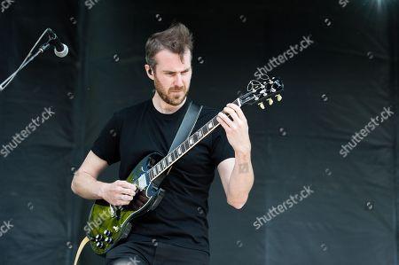 Noah Feldshuh of X Ambassadors performs at BottleRock Napa Valley Music Festival at Napa Valley Expo, in Napa, Calif