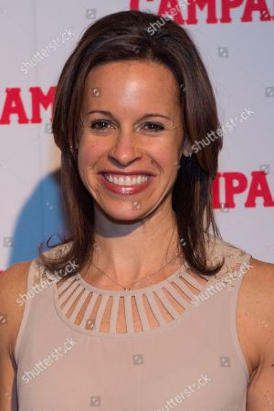 TV personality Jenna Wolfe attends the 2016 Campari Calendar unveiling celebration at the Standard Hotel, in New York