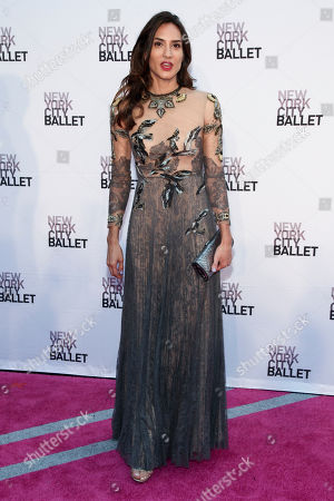 Zani Gugelmann attends the 2016 New York City Ballet Fall Gala at The David H. Koch Theater on Tuesday, Sept. 20, in New York