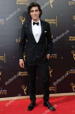 Editorial photo of 2016 Creative Arts Emmy Awards - Arrivals - Night One, Los Angeles, USA - 10 Sep 2016