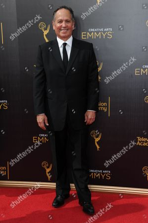 Kevin Kay arrives at night two of the Creative Arts Emmy Awards at the Microsoft Theater, in Los Angeles