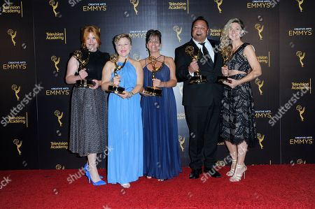 Editorial image of 2016 Creative Arts Emmy Awards - Press Room - Night Two, Los Angeles, USA - 11 Sep 2016