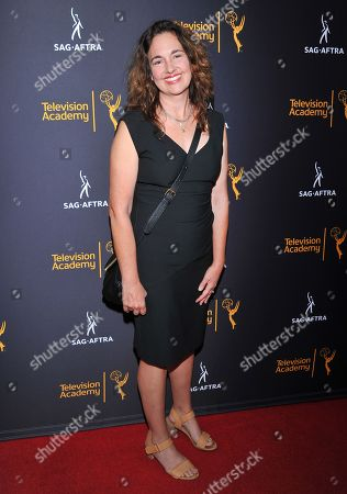 Starr Parodi arrives at the Dynamic & Diverse Nominee Reception presented by the Television Academy and SAG-AFTRA at the Academy's Saban Media Center, in the NoHo Arts District in Los Angeles