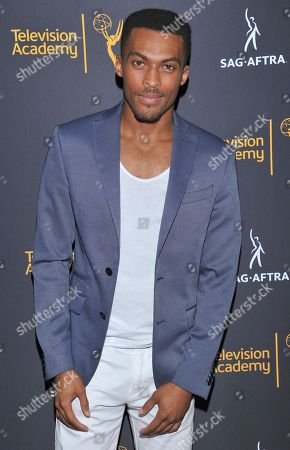 Shamar Sanders arrives at the Dynamic & Diverse Nominee Reception presented by the Television Academy and SAG-AFTRA at the Academy's Saban Media Center, in the NoHo Arts District in Los Angeles