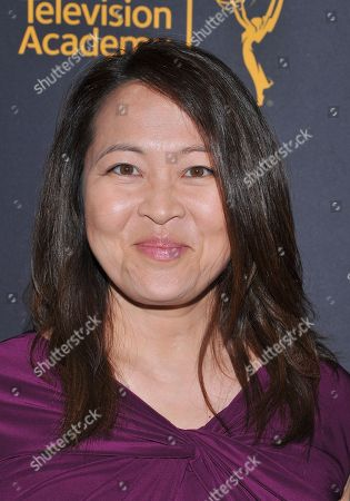 Suzy Nakamura arrives at the Dynamic & Diverse Nominee Reception presented by the Television Academy and SAG-AFTRA at the Academy's Saban Media Center, in the NoHo Arts District in Los Angeles