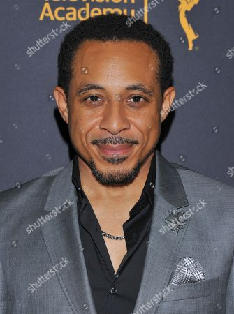 Stock Photo of Dale Godboldo arrives at the Dynamic & Diverse Nominee Reception presented by the Television Academy and SAG-AFTRA at the Academy's Saban Media Center, in the NoHo Arts District in Los Angeles