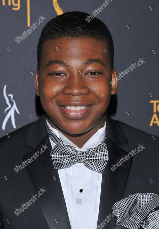 Mekai Curtis arrives at the Dynamic & Diverse Nominee Reception presented by the Television Academy and SAG-AFTRA at the Academy's Saban Media Center, in the NoHo Arts District in Los Angeles