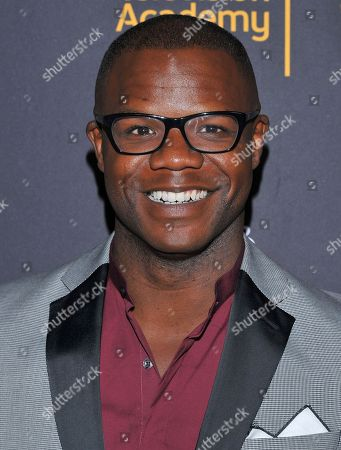 Tory Devon Smith arrives at the Dynamic & Diverse Nominee Reception presented by the Television Academy and SAG-AFTRA at the Academy's Saban Media Center, in the NoHo Arts District in Los Angeles