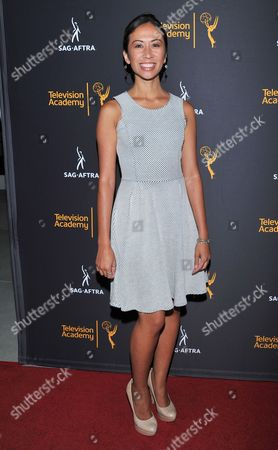 Stock Photo of Elaine Loh arrives at the Dynamic & Diverse Nominee Reception presented by the Television Academy and SAG-AFTRA at the Academy's Saban Media Center, in the NoHo Arts District in Los Angeles