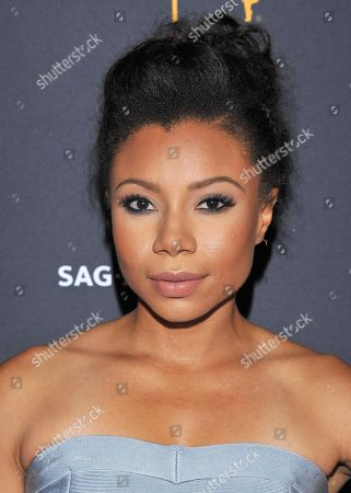 Shalita Grant arrives at the Dynamic & Diverse Nominee Reception presented by the Television Academy and SAG-AFTRA at the Academy's Saban Media Center, in the NoHo Arts District in Los Angeles
