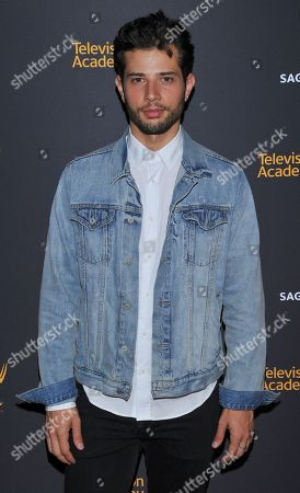 Rafael de la Fuente arrives at the Dynamic & Diverse Nominee Reception presented by the Television Academy and SAG-AFTRA at the Academy's Saban Media Center, in the NoHo Arts District in Los Angeles