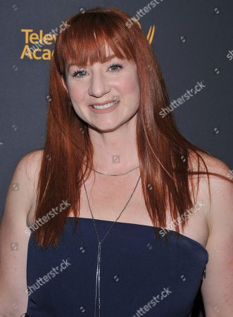Katy Sullivan arrives at the Dynamic & Diverse Nominee Reception presented by the Television Academy and SAG-AFTRA at the Academy's Saban Media Center, in the NoHo Arts District in Los Angeles